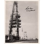 Gordon Cooper Mercury authentic signed autograph photo