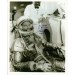 Gordon Cooper Mercury signed autograph colour photo 2