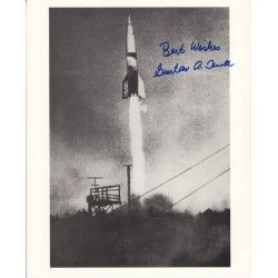 Gustav Kroll V1 - V2 rocket engineer genuine signed authentic signature photo