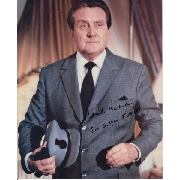James Bond Patrick Macnee genuine authentic signed autograph photo 2