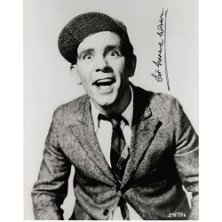 Norman Wisdom comedy signed autograph b/w photo 2