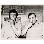 Ronnie Barker Porridge comedy signed autograph b/w photo