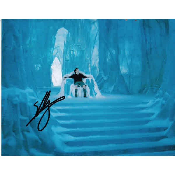 Skandar Keynes Narnia authentic genuine signed autograph photo