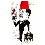 SOLD Tommy Cooper signed autograph postcard image
