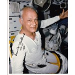 STS 31b Bruce McCandless astronaut authentic signed photo