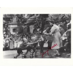 Jerry Maren Wizard of Oz signed authentic autograph photo