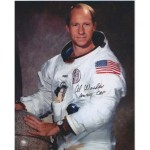Al Worden WSS Apollo genuine signed autograph photo