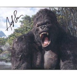 Andy Serkis signed autograph King Kong photo