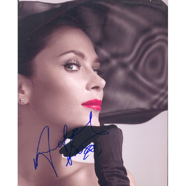 Anna Friel genuine signed authentic autograph photo