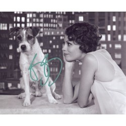 Berenice Bejo genuine authentic signed autograph photo