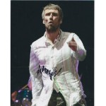 Bez, Happy Mondays signed colour photo
