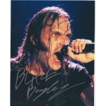 Blaze Bayley Iron Maiden authentic signed autograph colour photo 3