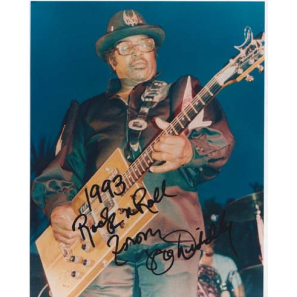 Bo Diddley signed original genuine autograph authentic photo