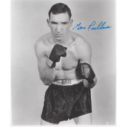 Boxing Gene Fullmer signed original genuine autograph authentic photo
