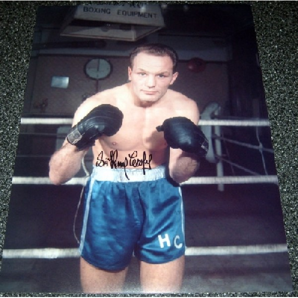 Boxing Henry Cooper genuine signed authentic signature photo 10
