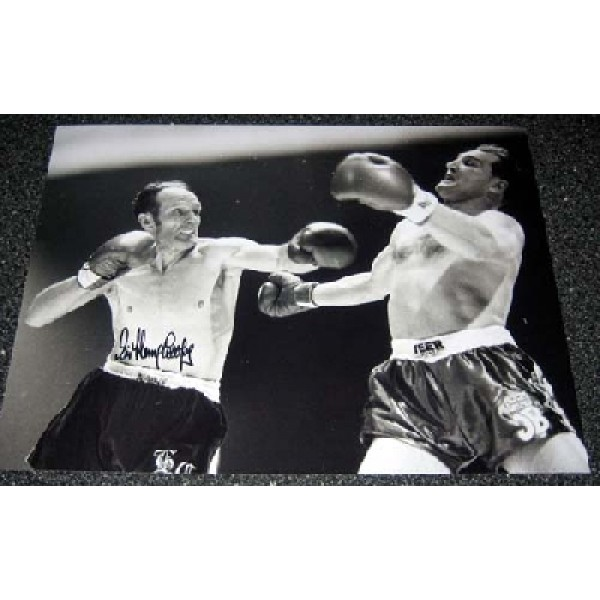 Boxing Henry Cooper genuine signed authentic signature photo 12