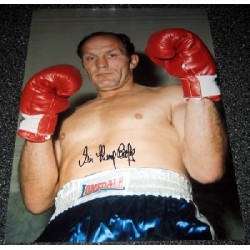 Boxing Henry Cooper genuine signed authentic signature photo 2