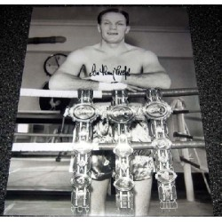 Boxing Henry Cooper genuine signed authentic signature photo 28