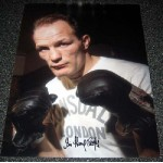 Boxing Henry Cooper genuine signed authentic signature photo 4