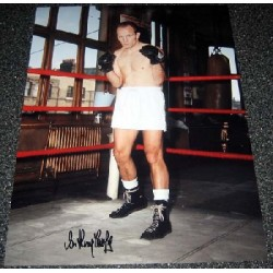 Boxing Henry Cooper genuine signed authentic signature photo 8