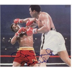 Boxing Leon Spinks signed original genuine autograph authentic