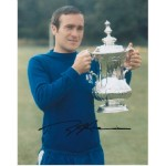 Chelsea, Ron 'Chopper' Harris signed colour photo 3