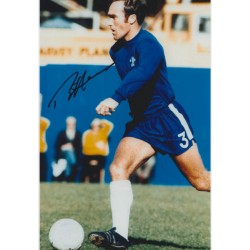 Chelsea, Ron 'Chopper' Harris signed original genuine autograph authentic photo