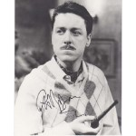 Comedy Grif Rhys Jones signed autograph colour photo.