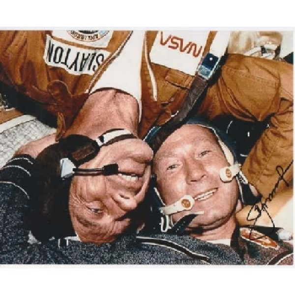 Cosmonaut Alexei Leonov genuine authentic signed autograph photo 3