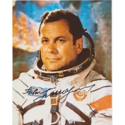 Cosmonaut Popovitch space genuine signed autograph photo 2