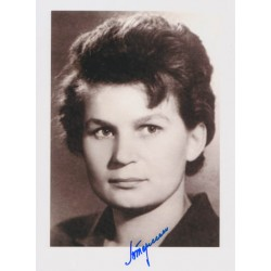 Cosmonaut Valentina Tereshkova genuine signed authentic autograph photo