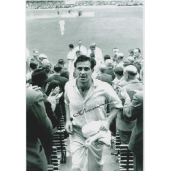 Cricket Fred Trueman genuine signed authentic signature photo