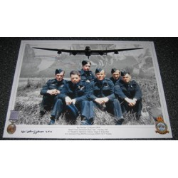 Dambuster 617 George 'Johnny' Johnson signed autograph photo