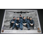 Dambuster George 'Johnny' Johnson signed autograph photo