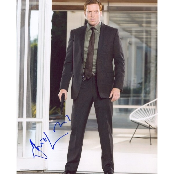 Damian Lewis signed autograph photo