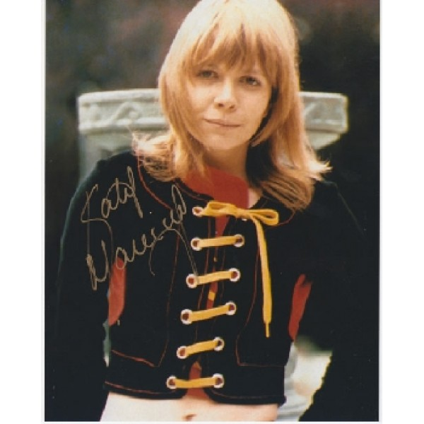 Doctor Dr Who Katy Manning signed original genuine autograph authentic photo