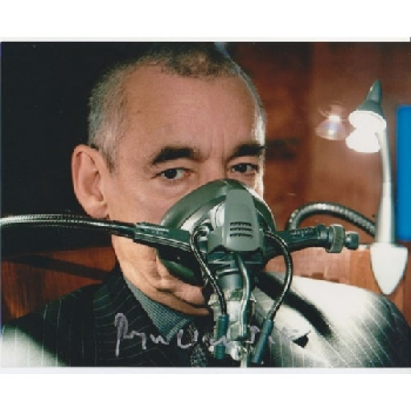 Dr Doctor Who Roger Lloyd Pack signed original genuine autograph authentic photo