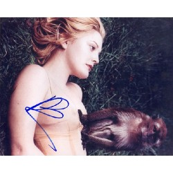 Drew Barrymore genuine signed authentic signature photo