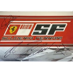 F1 Ferrari Raikkonen Todt genuine signed authentic signature photo