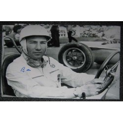 F1 Motor Racing Stirling Moss genuine signed authentic signature photo 4