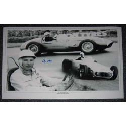 F1 Motor Racing Stirling Moss genuine signed autograph photo 6