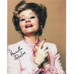 Fawlty Towers Prunella Scales  signed autograph colour photo 2