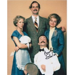 Fawlty Towers Prunella Scales  signed autograph colour photo 3