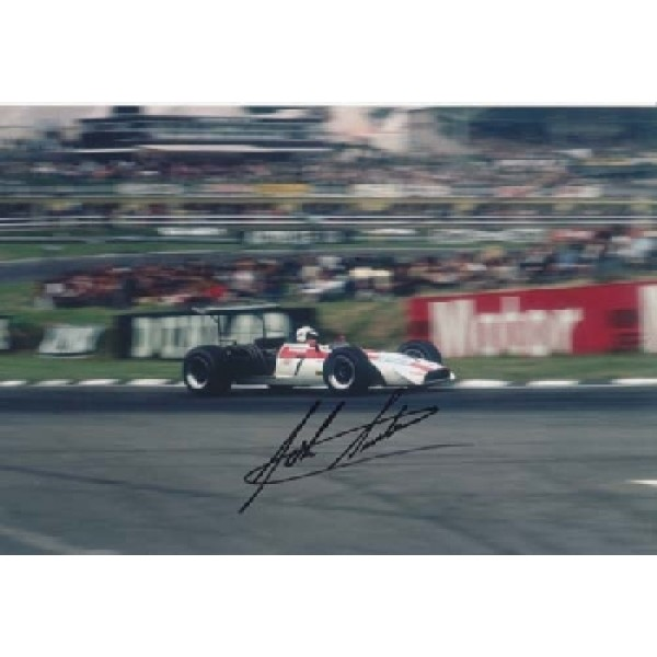 Ferrari Honda Surtees signed original genuine autograph authentic photo