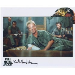 Full Metal Jacket Keith Hodiak genuine signed authentic signature photo
