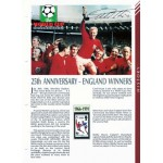 Geoff Hurst genuine signed autograph Masterfile page