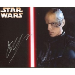 Hayden Christensen Star Wars genuine signed authentic signature photo