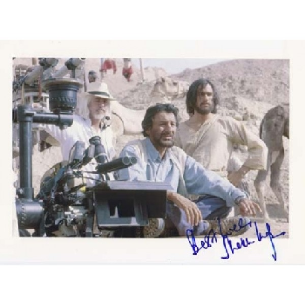 Heath Ledger Shekar Kapur signed autograph colour image