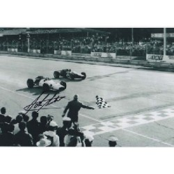 John Surtees Honda signed original genuine autograph authentic photo