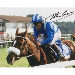 Horse Racing Willie Carson signed original genuine autograph authentic photo